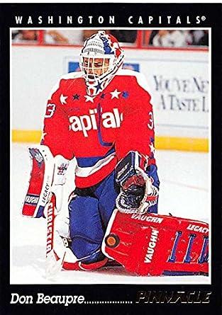 Amazon com: 1993-94 Pinnacle Don Beaupre #292 Capitals