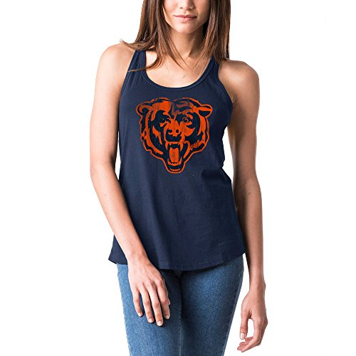 Bear Womens Fitted Tank Top - Chicago Bears Women's Baby Jersey Racer Back Tank Top X-Small