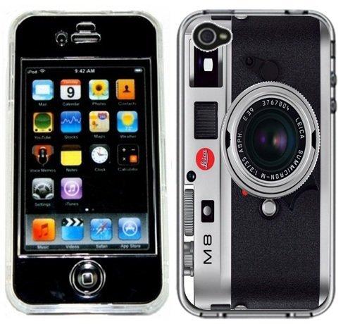Leica M8 Camera Handmade iPhone 4 4S Full Hard Plastic Case