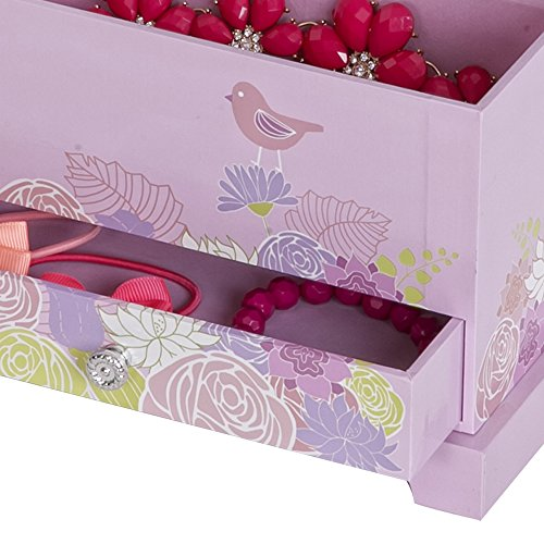 Mele & Co. Piper Girl's Musical Ballerina Jewelry Box (Bird & Blooms Design) by Mele & Co. (Image #5)