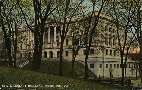 Amazon com: State Library Building Richmond, Virginia