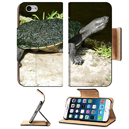 Liili Premium Apple iPhone 6 iPhone 6S Flip Pu Leather Wallet Case IMAGE ID: 507066 Murray - For Australia Sale Tortoise