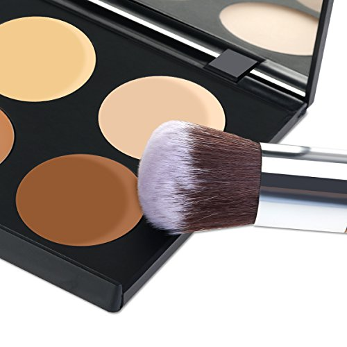 RUIMIO Contour Kit Cream Contour Palette 6 Colors with Makeup Brush Set by PIXNOR (Image #6)