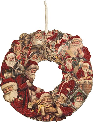 Primitive Christmas Santa - 4