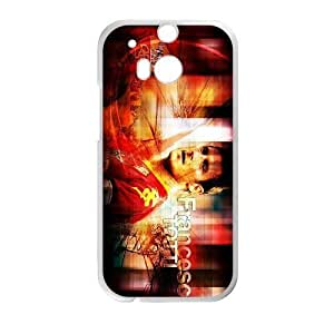 HTC One M8 phone case White francesco totti AADE3533200