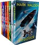 Mark Walden H.I.V.E 8 Books Collection Set Pack (H.I.V.E., The Overlord Protocol, Escape Velocity, Dreadnought, Rogue, Zero Hour, Aftershock, Deadlock