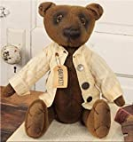 Cheap hm Doll – Barrett Bear – Primitive Country Rustic Stuffed Teddy Decor