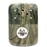 Hand Warmer 12 Hour Realtree Camouflage Zippo Outdoor Indoor Windproof Lighter Free Custom Personalized Engraved Message Permanent Lifetime Engraving on Backside (Green)