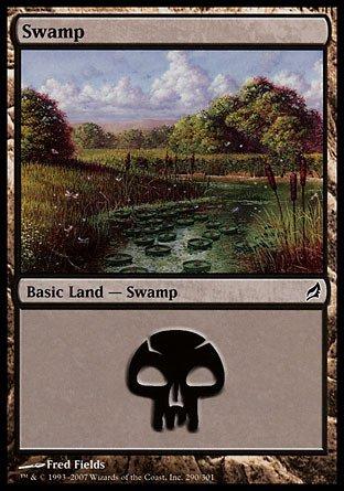 Magic: the Gathering - Swamp (290) - Lorwyn - Foil ()