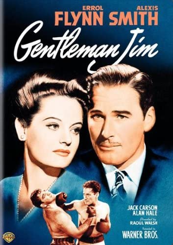 Gentleman Jim Errol Flynn Alexis Smith movie poster print 2