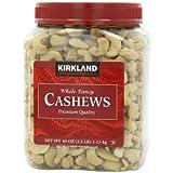 Kirkland Signature Whole Cashews, 40-Ounce 2.5 Pound