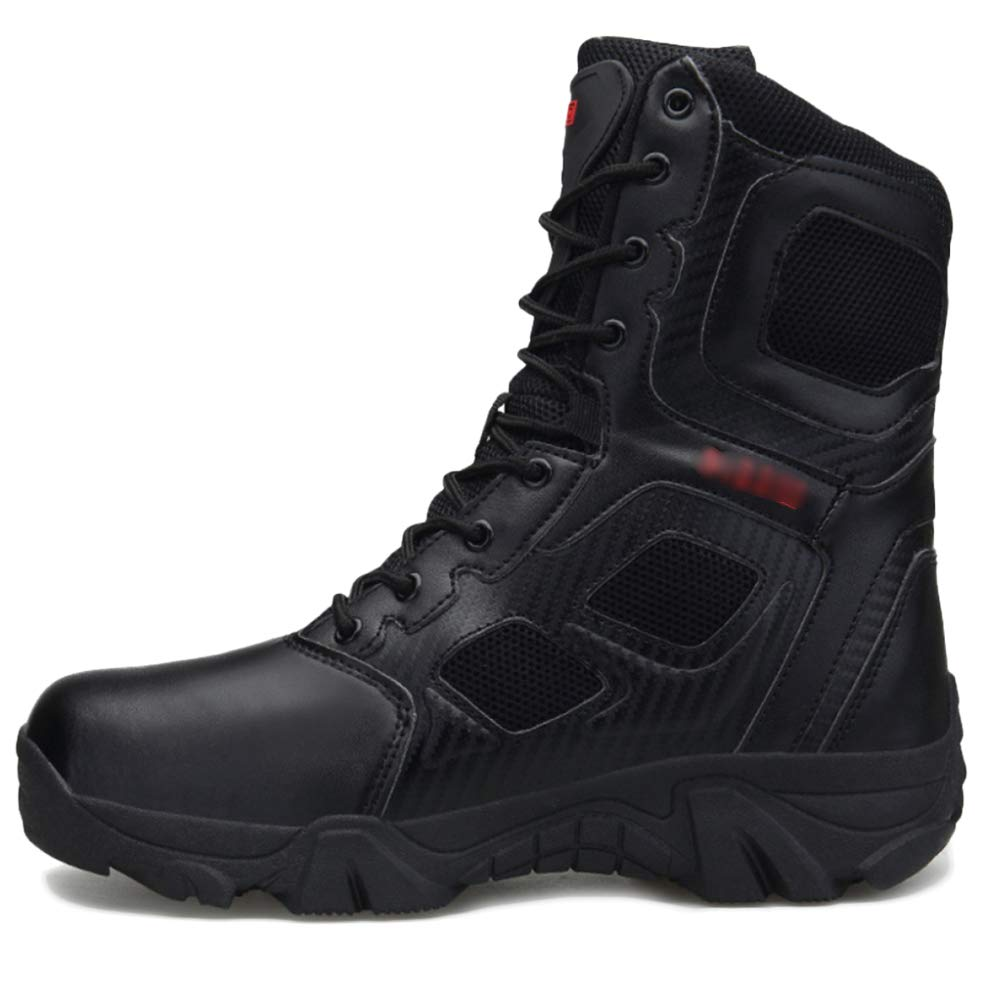 GBRALX Plus Größe Herren Militärische Taktische Stiefel Anti-Rutsch-Outdoor-Schnürschuhe High Top Combat Stiefel Wasserdichte Jungle Patrol Stiefel 39-47