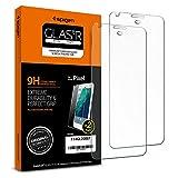 Spigen Tempered Glass Google Pixel Screen Protector [ Case Friendly ] [9H Hardness ] for Google Pixel (2016 Release) (2 Pack)