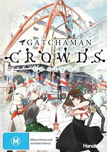 Gatchaman Crowds Insight | 3 Discs | Anime & Manga | NON-USA Format | PAL | Region 4 Import - Australia