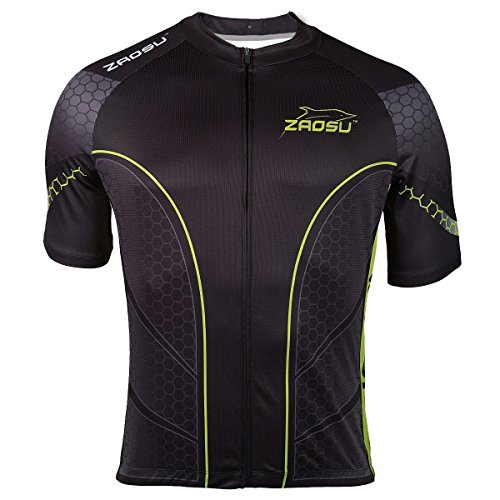 ZAOSU Z-Breeze Bike Shirt - kurzärmliges Radtrikot, Größe:M