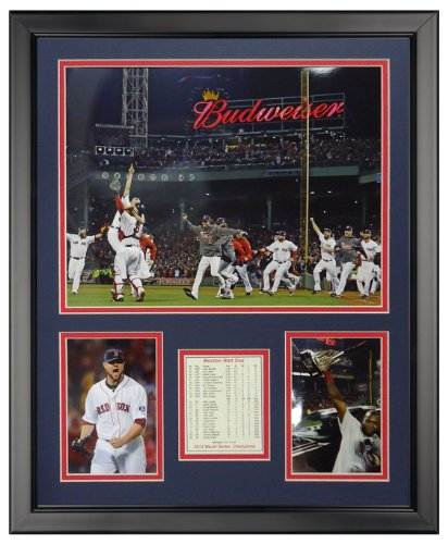 (Legends Never Die 2013 Boston Red Sox World Series Champions - Run - Framed Photo Collage, 16