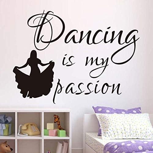 wukongsun Dance is my Passion Tatuajes de Pared calcomanías niños ...