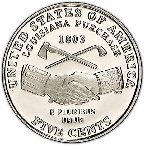 2004-S Jefferson Nickel Proof Peace Medal Nice No Problem Coin
