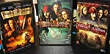 Pirates of the Caribbean Trilogy (Curse of the Black Pearl / Dead Man's Chest / At World's End) by Walt Disney Video by Gore Verbinski