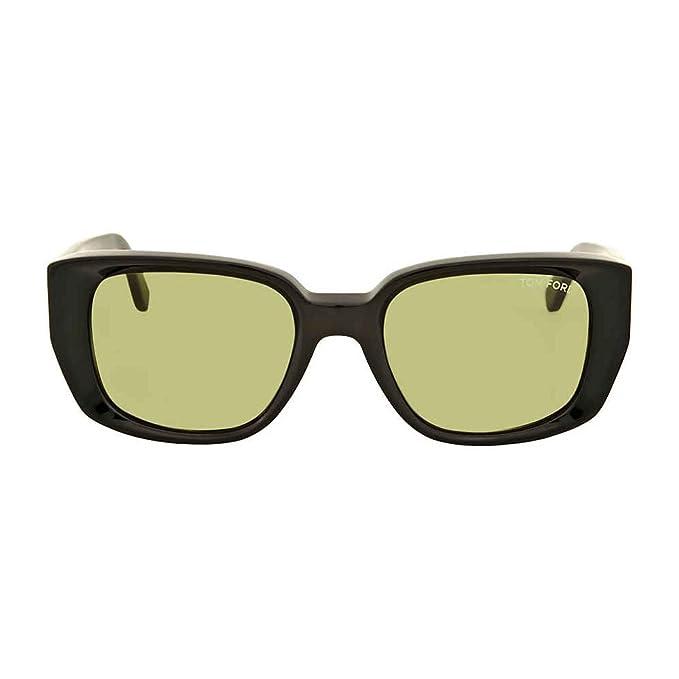 Tom Ford Gafas de sol Raphael FT0492 C52 01N (shiny black ...