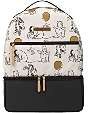 Petunia Pickle Bottom XADS-575-00 Axis Backpack, Winnie the Pooh & Friends