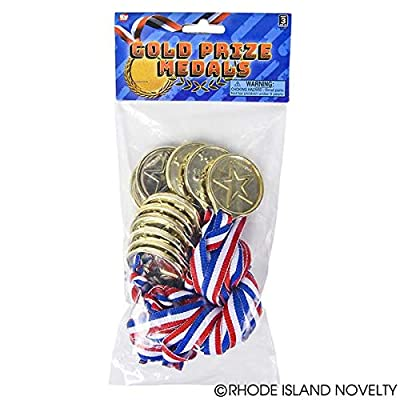 Rhode Island Novelty Winner Award Medals Pack of 36: Toys & Games