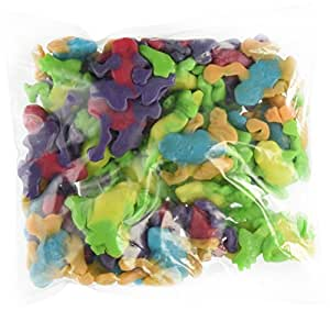 SweetGourmet Rainforest Gummi Frogs, 2 LB