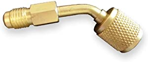 Pioneer Ductless Mini Split System Charging Vacuum Port Adapter Swivel Type, 5/16 Female, 1/4 Male SAE