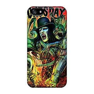 Shock Absorption Hard Cell-phone Cases For Iphone 5/5s (nrI18643JYUd) Custom High Resolution Papa Roach Series