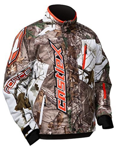 Castle Force Realtree Snowmobile Jacket - Camouflage - Medium by Castle