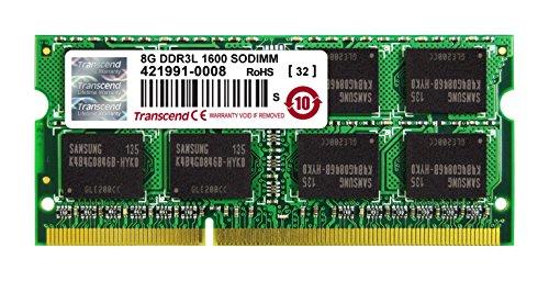 Transcend Information 8gb Ddr3l 1600 So-dimm 2rx8 by Transcend