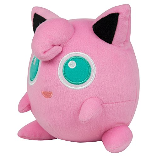 TOMY Pokémon Small Plush, Jigglypuff (Jigglypuff Pokemon)