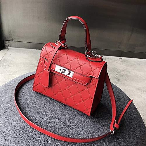 Hombro Fuoco Fairy Super Lingge Bag Marea Paquete Kelly Ins Rojo Americana Colgado Mano H0Hzpq