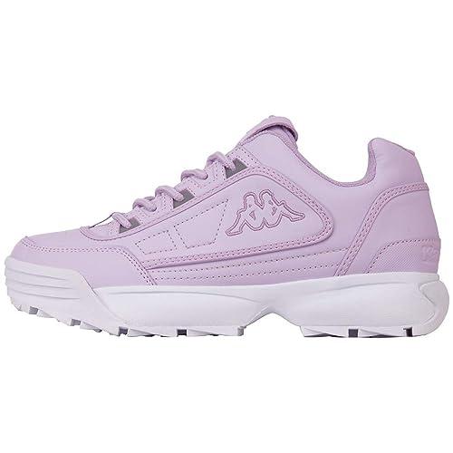 e5953cda2a5 Kappa Women's Rave 242681-2410 Low-Top Sneakers: Amazon.co.uk: Shoes ...