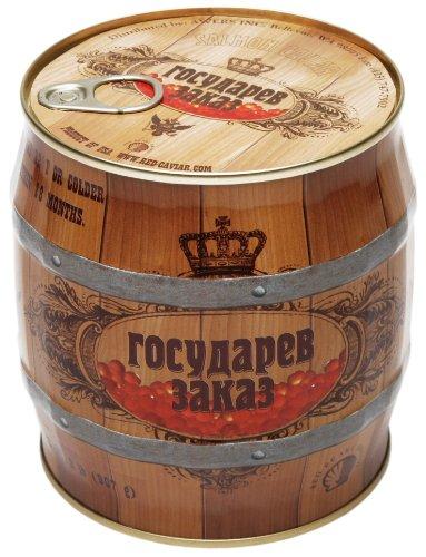(Gosudarev Zakaz Salmon (Red) Caviar 907 g (2 lbs) can)