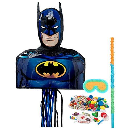 BirthdayExpress Batman Party Supplies - Pinata Kit]()