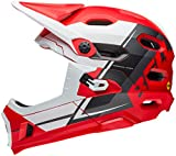 Bell Super DH MIPS Bike Helmet – Matte Red/White/Black Recourse Medium Review