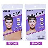 EBoot 3 Pack Wig Caps Neutral Nude Beige And Black Mesh