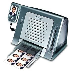 Hiti S420 - Impresora fotográfica LCD, plateado
