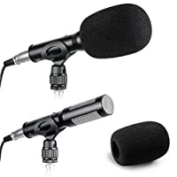 Neewer® Professional Uni-Directional System Pro Condenser Camera Camcorder Shotgun Interview MIC Microphone for Sony Canon JVC Toshiba Nikon Olympus Panasonic Fuji Other HDSLRs DV Camcoders from Neewer
