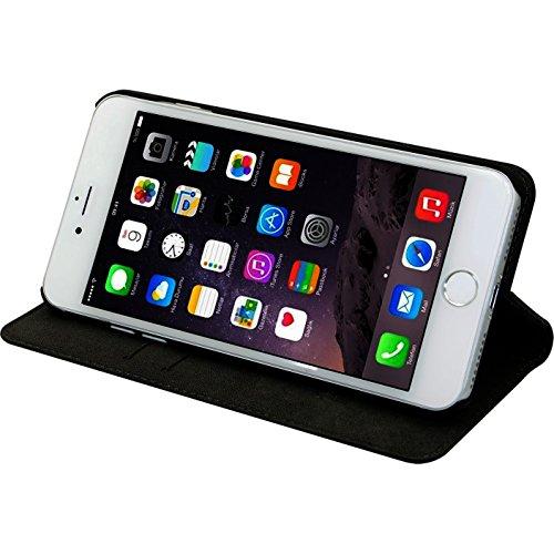The Kase 36832415Schutzhülle Klappdeckel mit Hüllen CB/Standfunktion für iPhone 7Plus schwarz