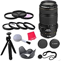 Canon EF 70-300mm f/4-5.6 IS USM Lens with 58mm 3 Piece Filter Kit for Canon EOS 7D Mark II, 60D, 70D, 80D, 6D, 5D Mark III, 5DS, 5DS-R, Digital SLR Cameras - International Version (No Warranty)