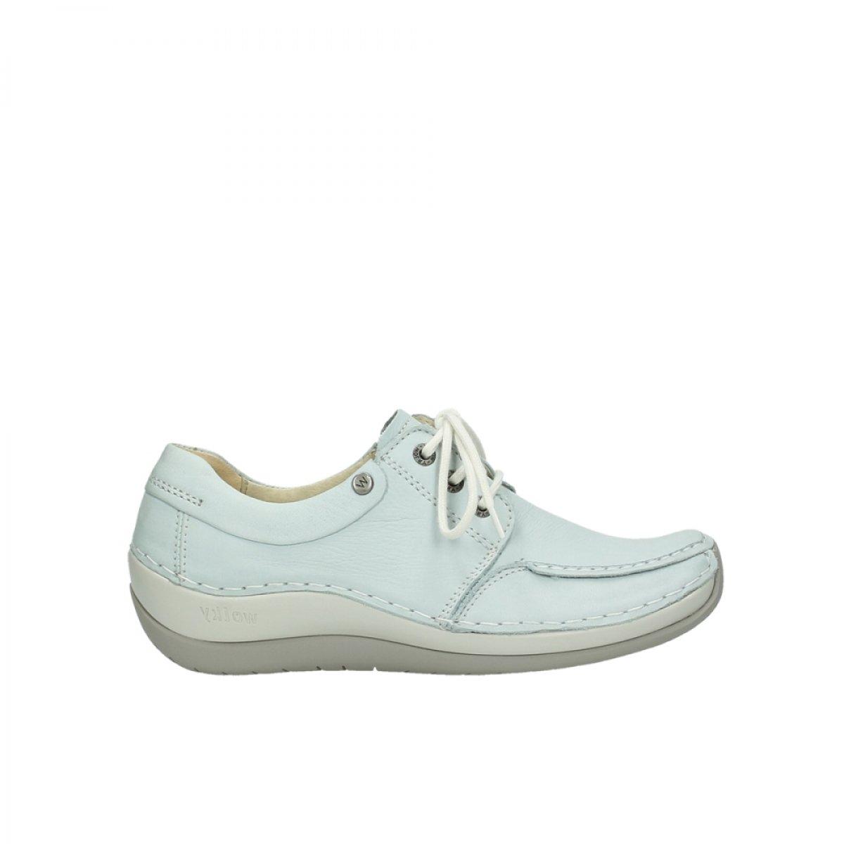 285 Ice Blau Leather Wolky Damen Schnuerschuhe Coral schwarz Summer Velvet lea. 4800207 Schwarz108885