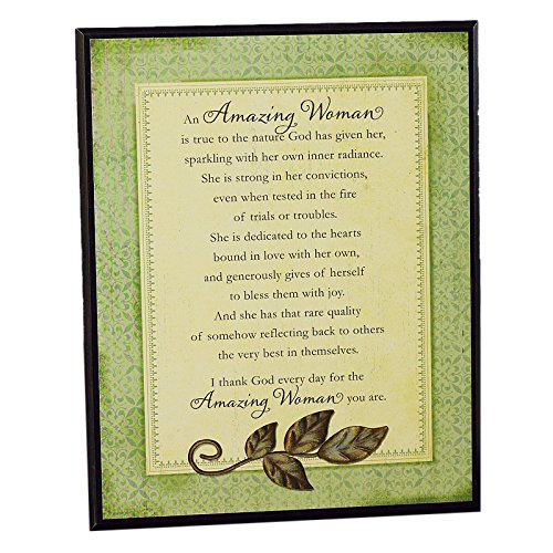 Amazing Woman Plaque