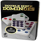 Double 9 Color Dot Dominoes in Collectors Tin (styles will vary) (Toy)