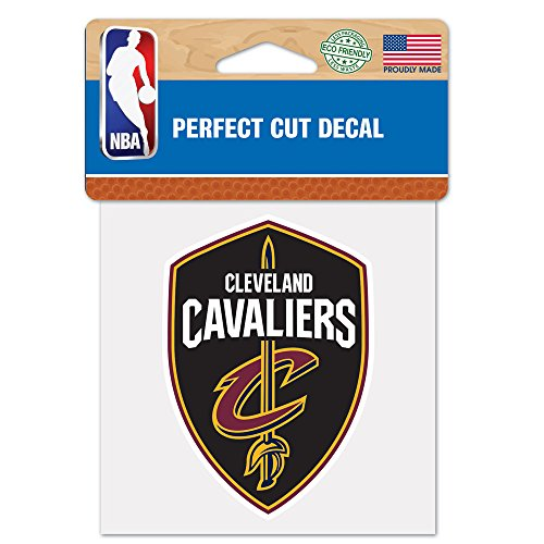 WinCraft NBA Cleveland Cavaliers Perfect Cut Color Decal, 4