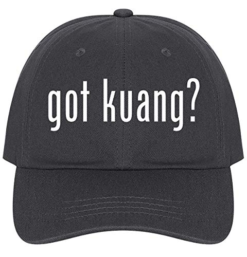(The Town Butler got Kuang? - A Nice Comfortable Adjustable Dad Hat Cap, Dark Grey)