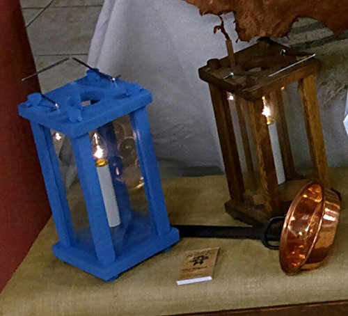Century Plank - 18th Century Style Wooden Candle Lantern