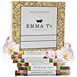 Emma T's Exciting Bath Salts for Women - Best Birthday Gifts for Women - 6 Baths - Excite Collection