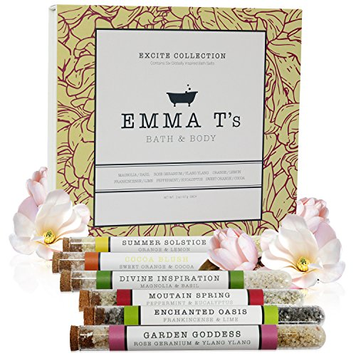 Emma T's Bath Salt Gift Set Excite - Solstice Family Care